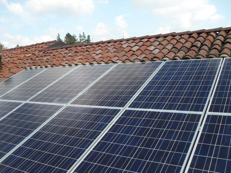 impianto fotovoltaico su tetto verona