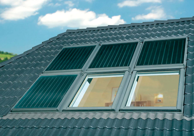 pannello fotovoltaico collettore solare casa