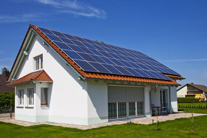 pannello fotovoltaico abitazione on-grid