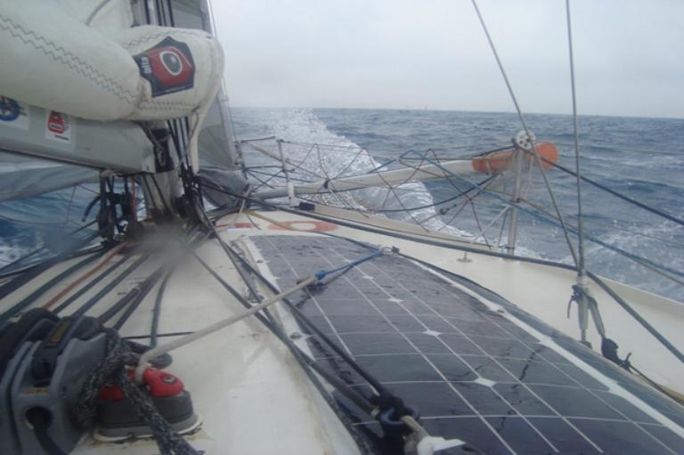 pannello fotovoltaico barca