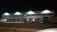 illuminazione led esterna azienda trasporti